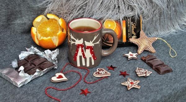 Чай и шоколад - способ снять стресс
