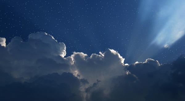 Посмотреть на небо - способ прекратить стресс