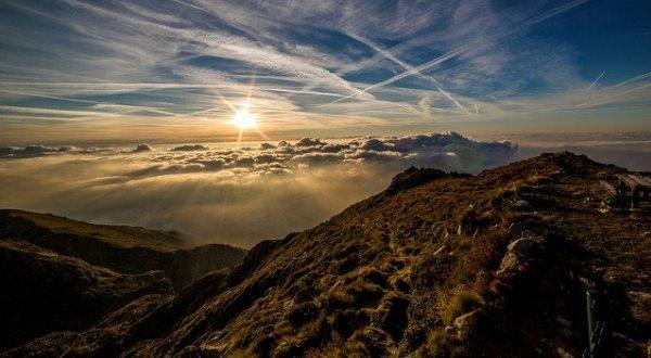 Благодарность восходу Солнца за прекрасное зрелище