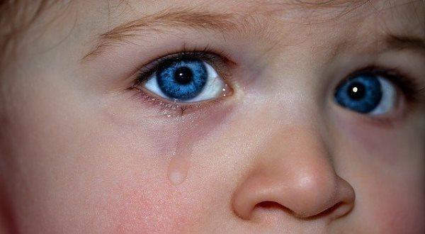 Дети плачут от обиды