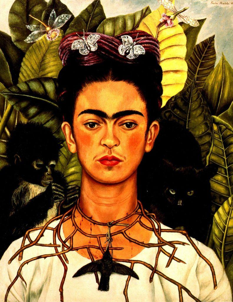Фрида Кало де Ривера — мексиканская художница, наиболее известная автопортретами