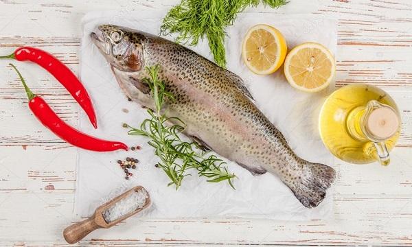 форель диетическая рыба