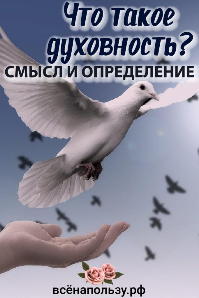 духовность смысл